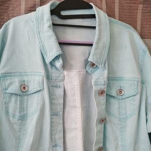 XL Tribal Jeans dyed Jean jacket